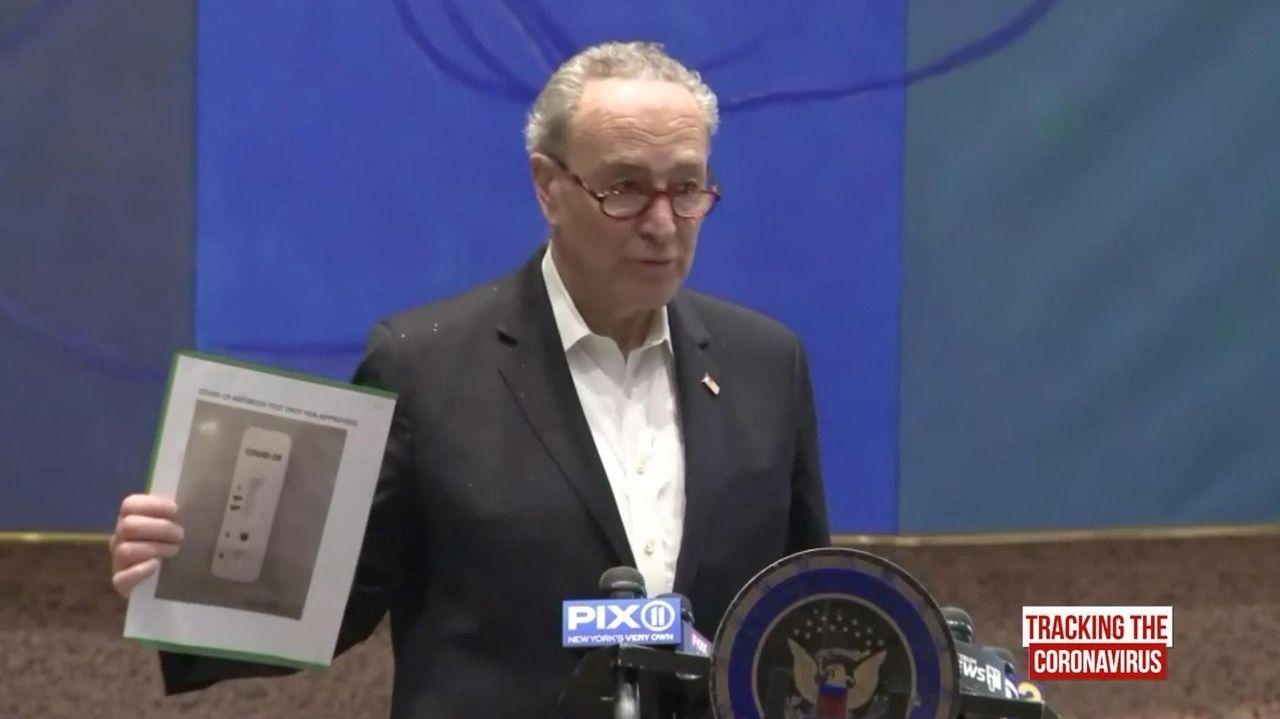 Sen. Chuck Schumer (D-N.Y.) on Sunday held a