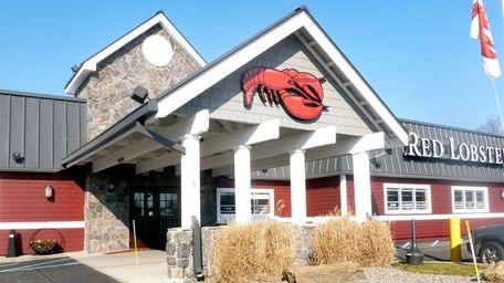 Red Lobster in Hicksville on Dec. 18, 2012.