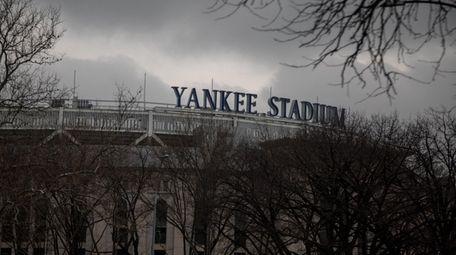Yankee Stadium on March 17, 2020.