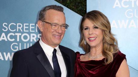 Tom Hanks and Rita Wilson attend the Screen