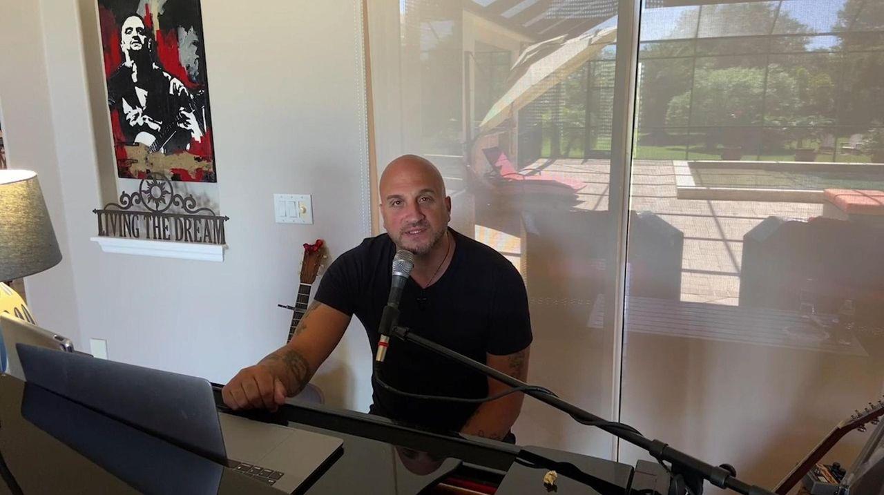 Michael DelGuidice, 49, of Sound Beach will perform