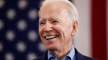 Former Vice President Joe Biden, the presumptive Democratic