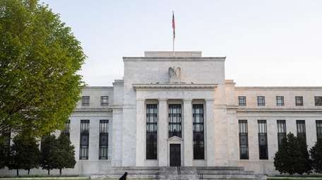 The Federal Reserve on Saturday. A Federal Reserve