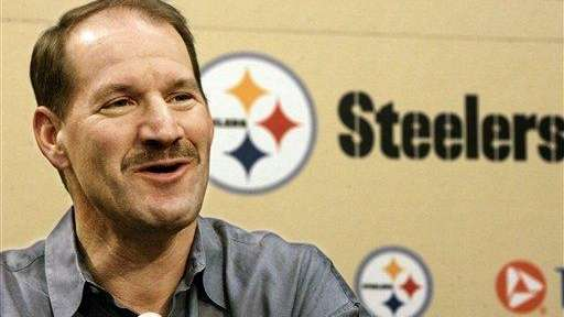 Former Pittsburgh Steelers coach Bill Cowher answers questions