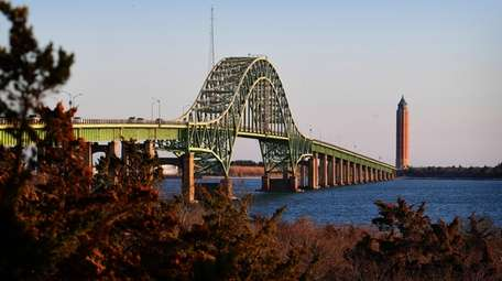 The Fire Island Inlet Bridge and the Robert