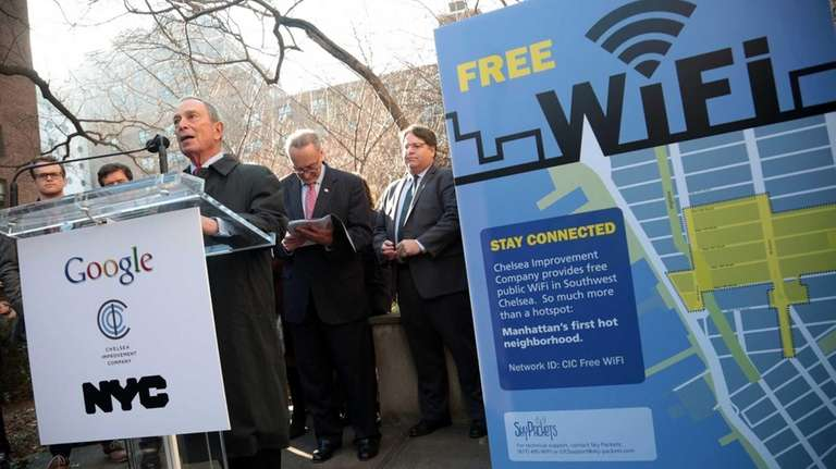 Mayor Bloomberg and Chuck Schumer join Google to