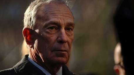 New York City Mayor Michael Bloomberg attends a