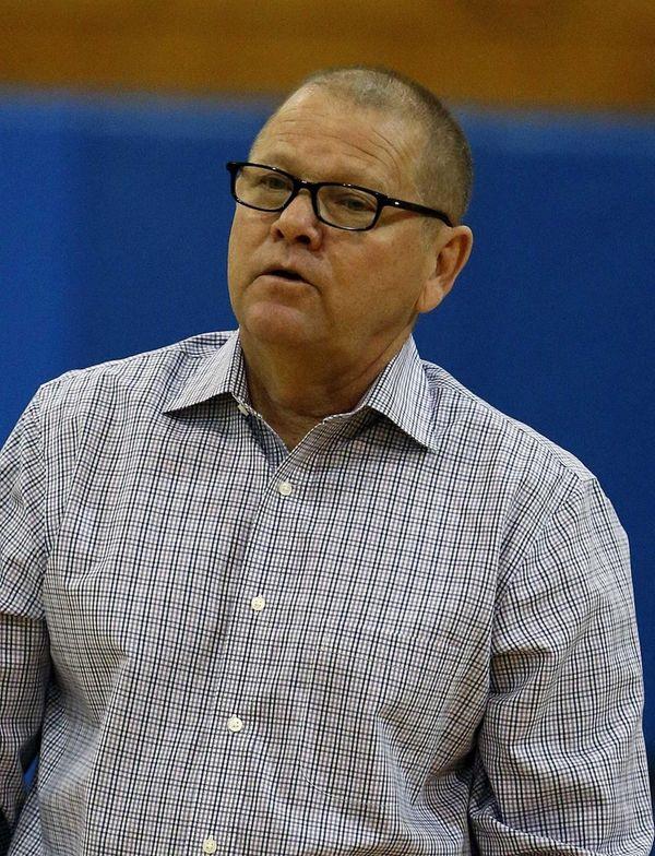 Jericho boys varsity basketball head coach Walter Bachman