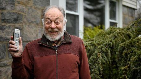 Jerry Berkson, 83, of New Hyde Park, volunteers