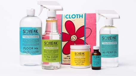 Squeak is a brand of natural organic cleaning