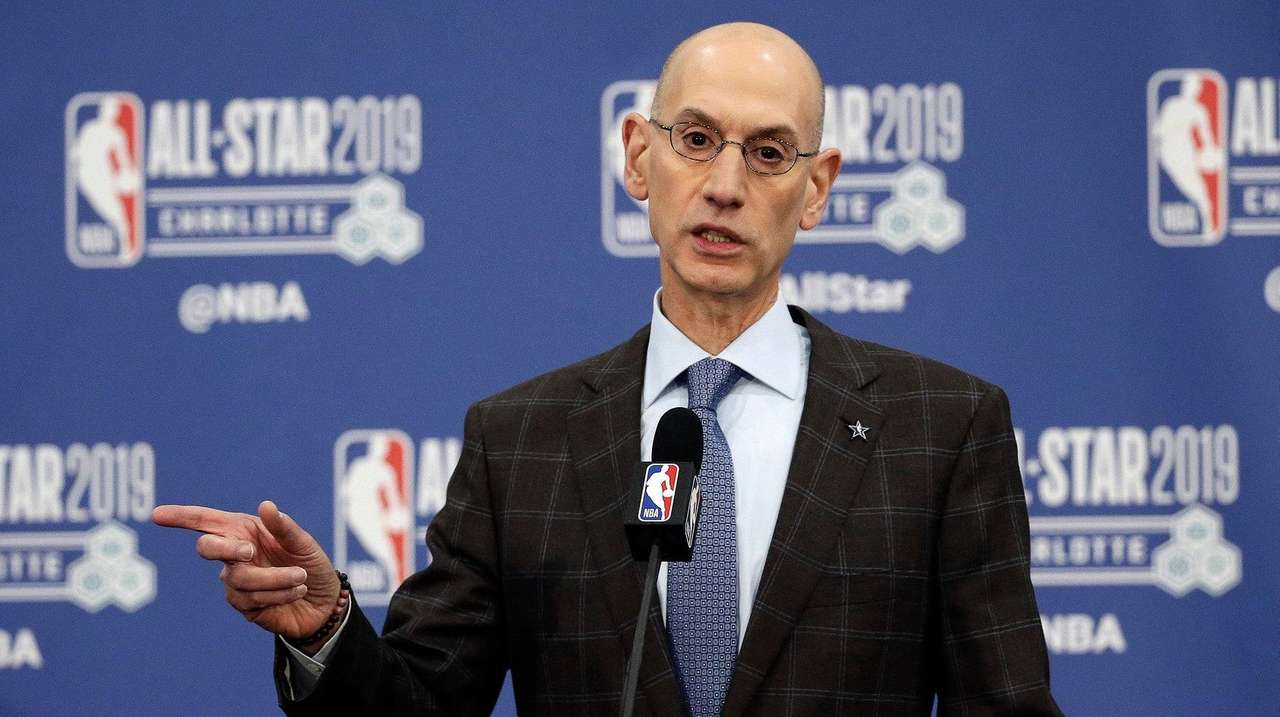 NBA commissioner Adam Silver preps league to lead return of sports ...