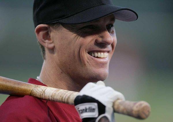 Craig Biggio of the Houston Astros smiles as