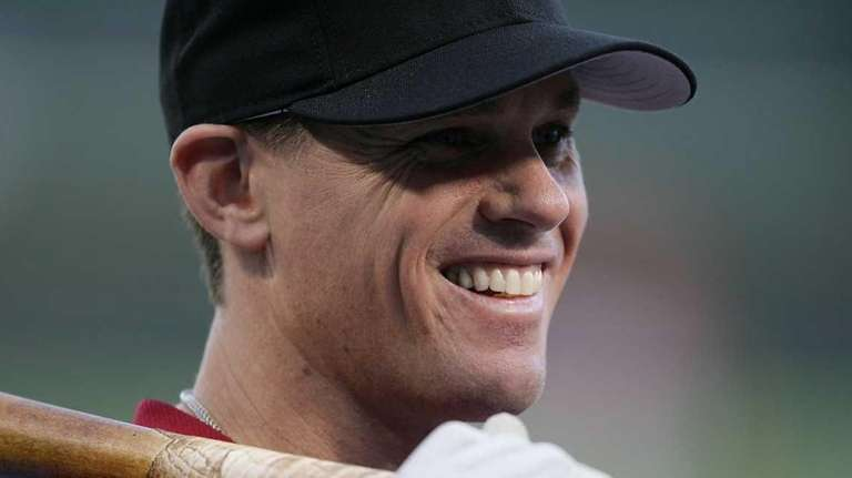 Craig Biggio of the Houston Astros smiles as