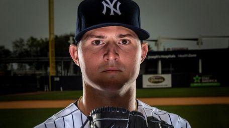 New York Yankees' LHP Zack Britton during spring