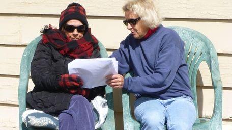 Theresa Matthews, right, and her mother, Maureen Matthews,