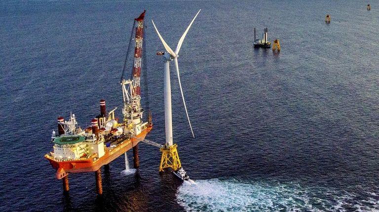 Block Island Wind Farm.