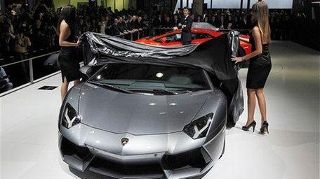 President and CEO of Automobili Lamborghini, Stephan Winkelmann,
