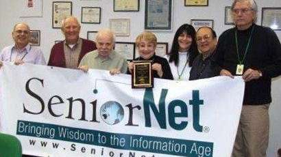 SeniorNet volunteers in Long Island