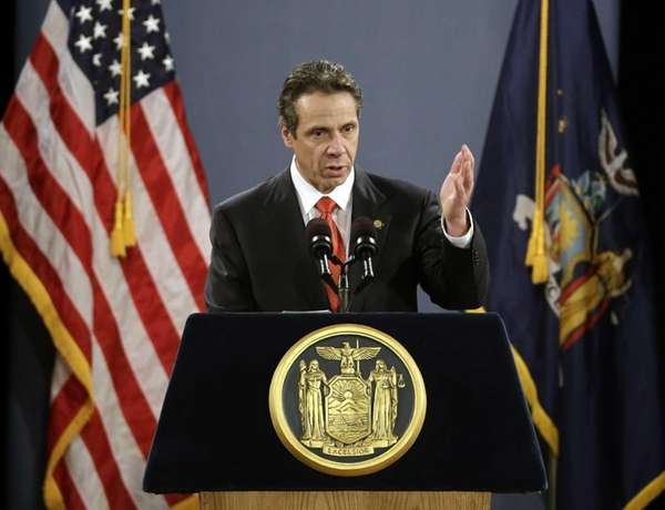 Gov. Andrew M. Cuomo during his State of