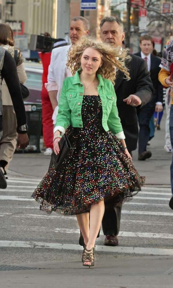 AnnaSophia Robb as Carrie Bradshaw in quot;The Carrie