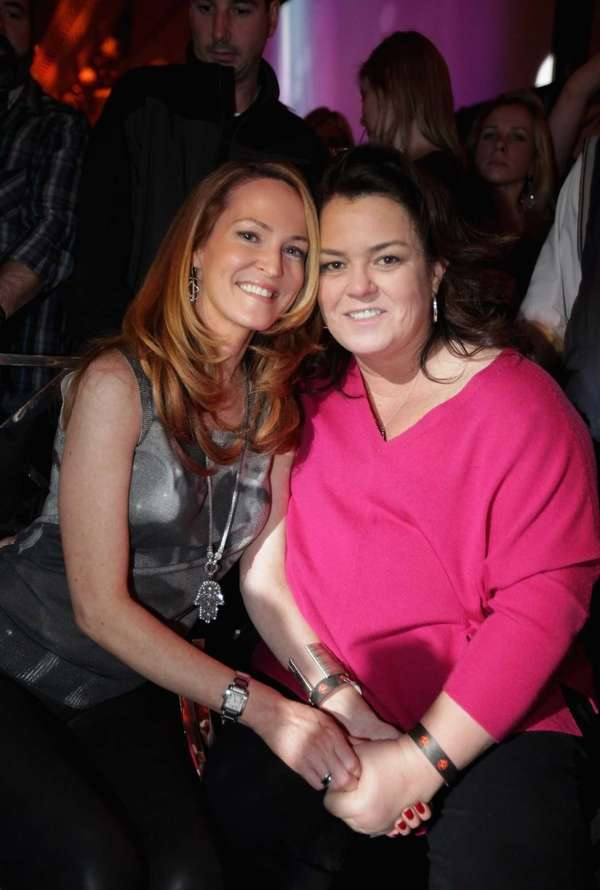 Michelle Rounds and Rosie O'Donnell attend Escape To