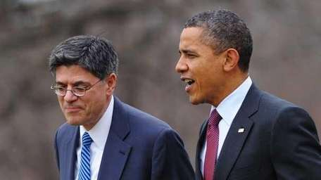 President Barack Obama and White House Chief of