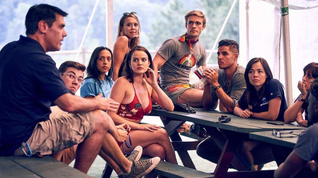 "The new Bravo reality series ""Camp Getaway,"" premiering"