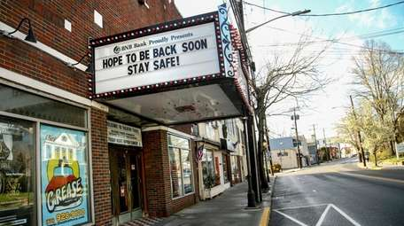 With many businesses like Theatre Three closed because