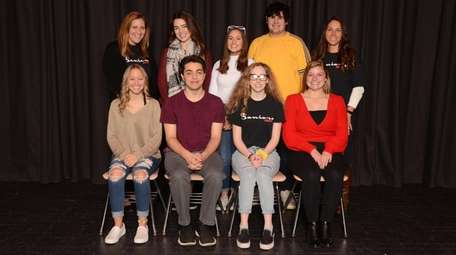 Members of Patchogue-Medford High School's Class of 2020