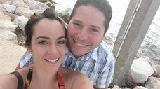 Ernesto Pereira and his wife, Amanda Pereira, put