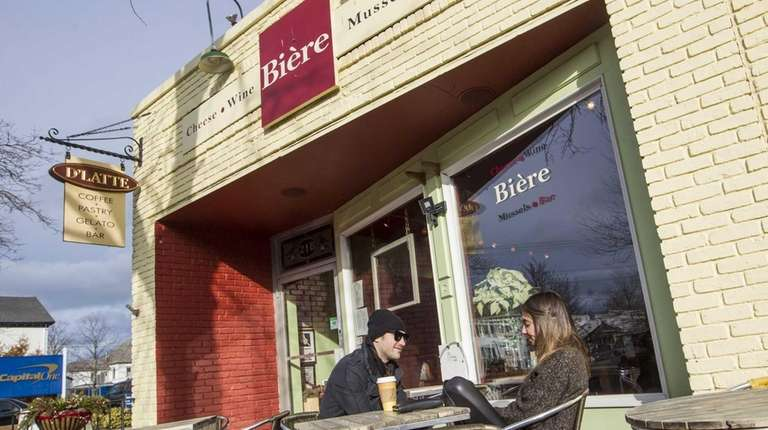 Biere in Greenport has closed for renovations.