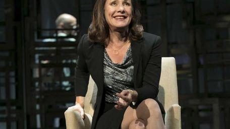 Laurie Metcalf as Juliana Smithton in Manhattan Theatre