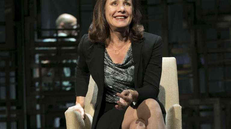 Laurie Metcalf as Juliana Smithton in Manhattan Theatre