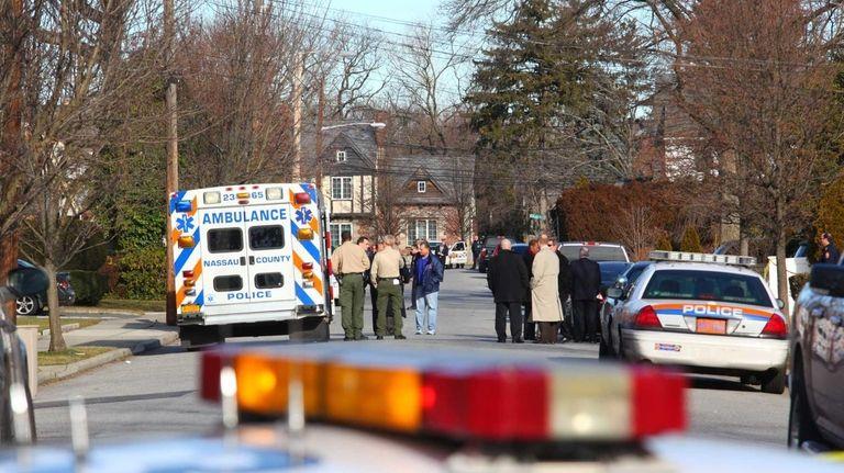Police respond to a 911 call Thursday morning