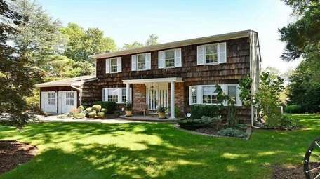 Priced at $759,000, this three-bedroom, 2½-bath Colonial on