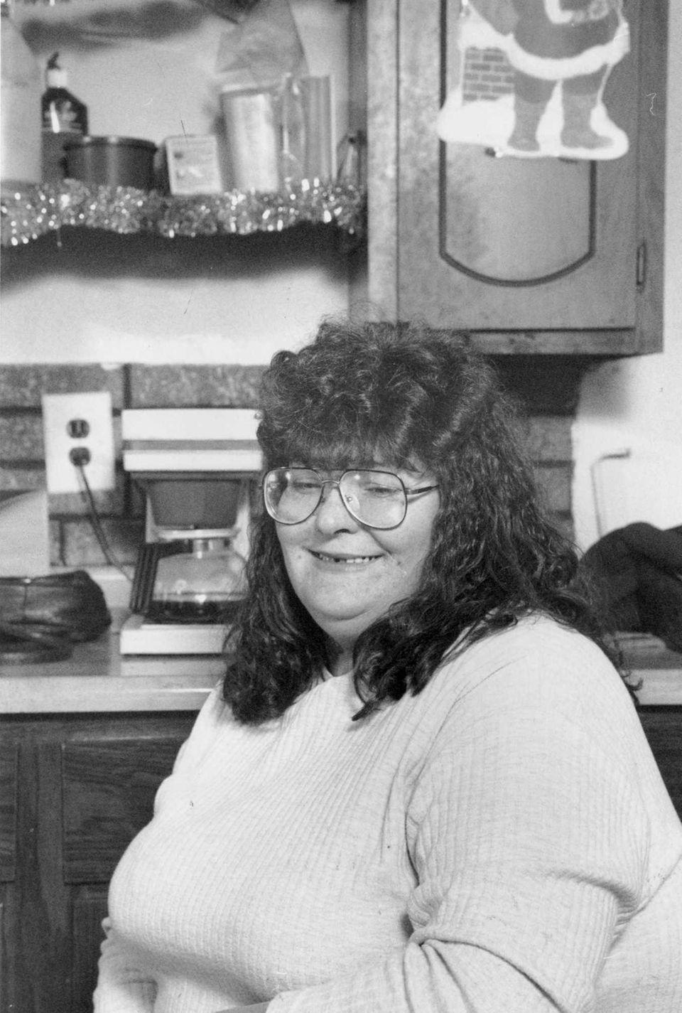 Marilyn Beers, Katie Beers' mother, after her makeover.
