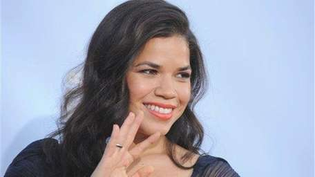 ?America Ferrera arrives at the ALMA Awards in