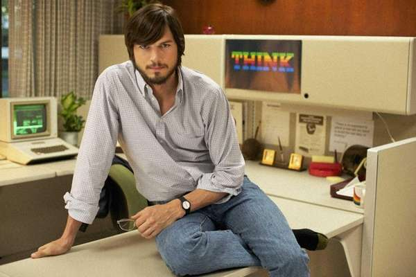 Ashton Kutcher stars as Steve Jobs in Joshua