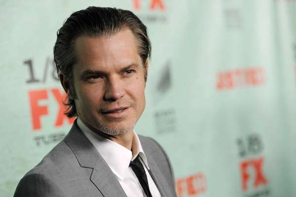 Timothy Olyphant, a cast member in the FX