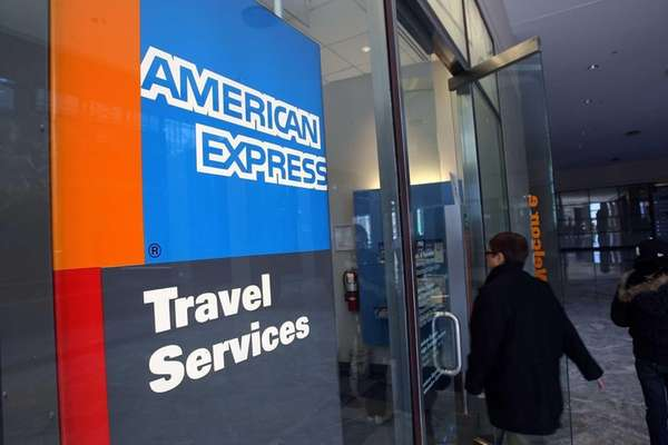 Manhattan-based American Express will trim travel staff in