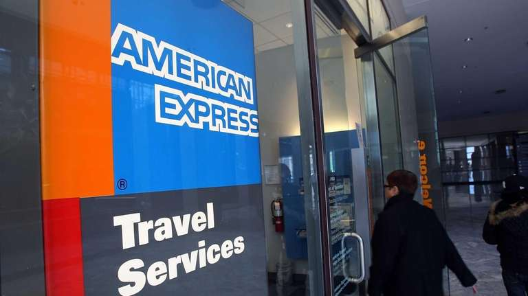 Manhattan-based American Express will trim travel staff in