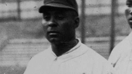 Oscar Charleston, a longtime player and manager in