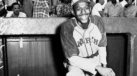 Kansas City Monarchs pitching great Leroy Satchel Paige