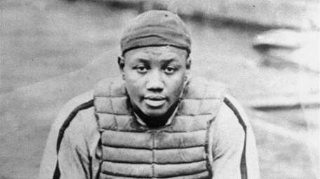 An undated file photo of Josh Gibson, considered