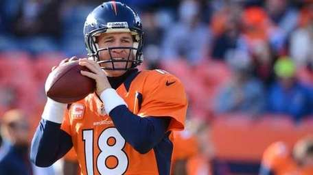 Peyton Manning #18 of the Denver Broncos. (Getty)
