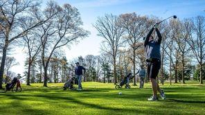 Sayville High School boys varsity golf coachSean McLaughlintalks