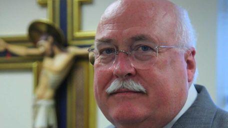 Richard Sullivan, the new CEO of Catholic Health