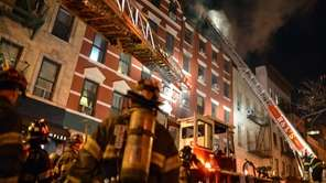 FDNY presonnel responded to a fire at 41