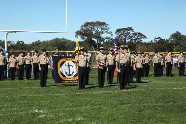 Riverhead High's Navy Junior Reserve Officers Training Corps