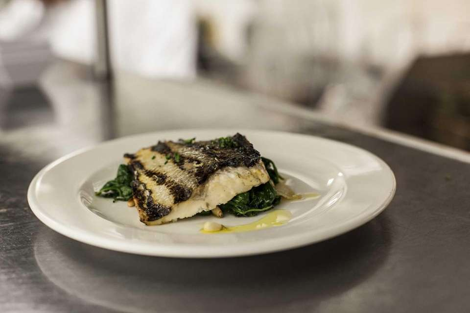 Branzino at Lula Trattoria is filleted and grilled,